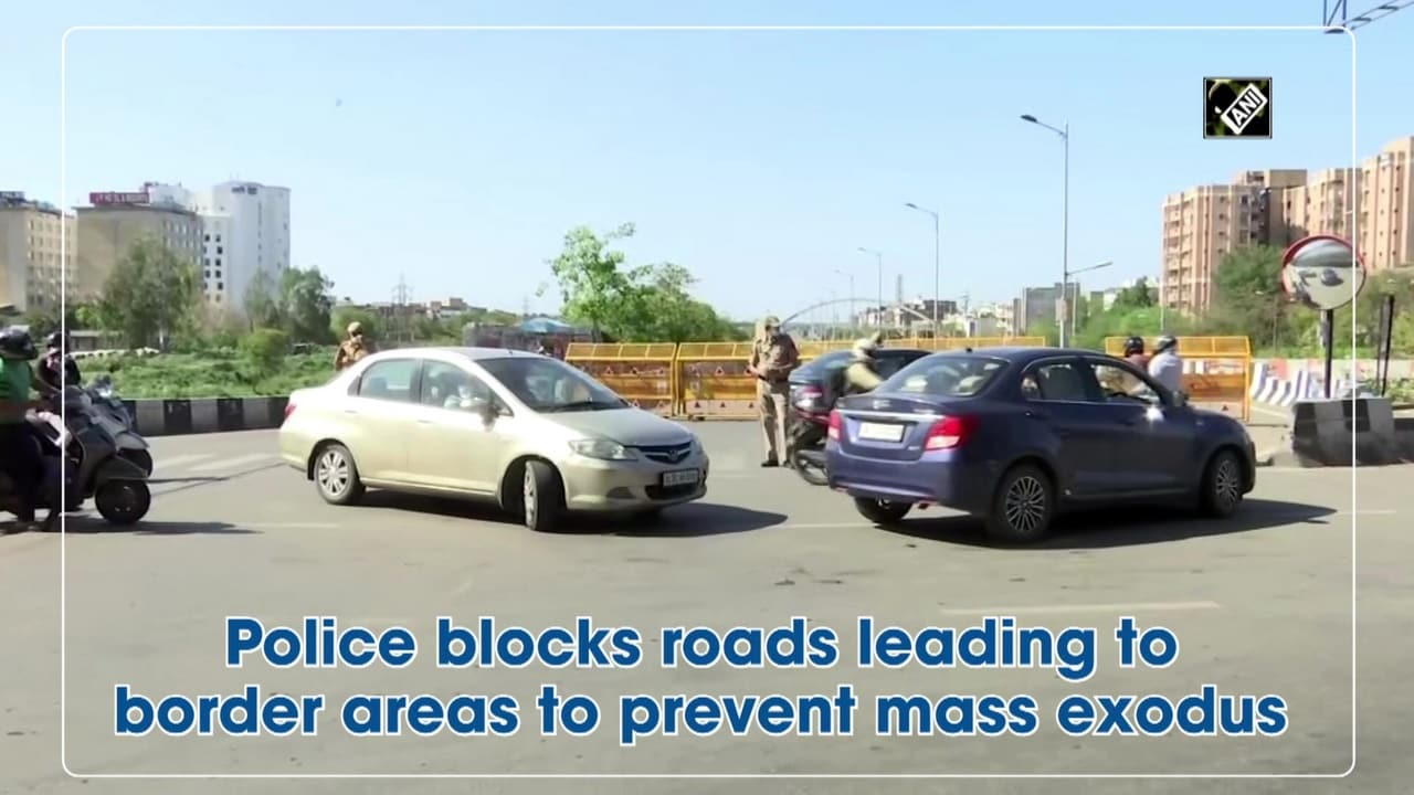 Police blocks roads leading to border areas to prevent mass exodus