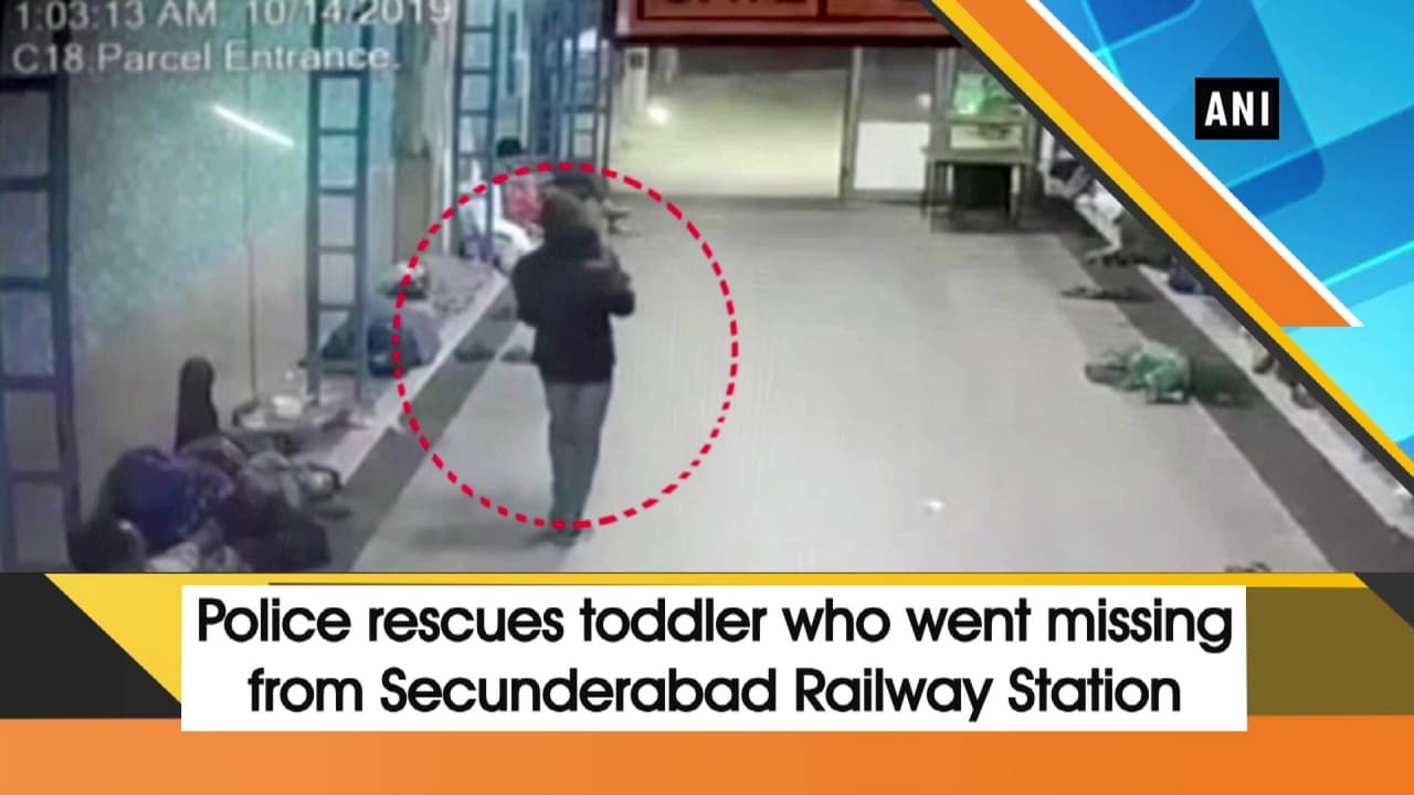 Police rescues toddler who went missing from Secunderabad Railway Station
