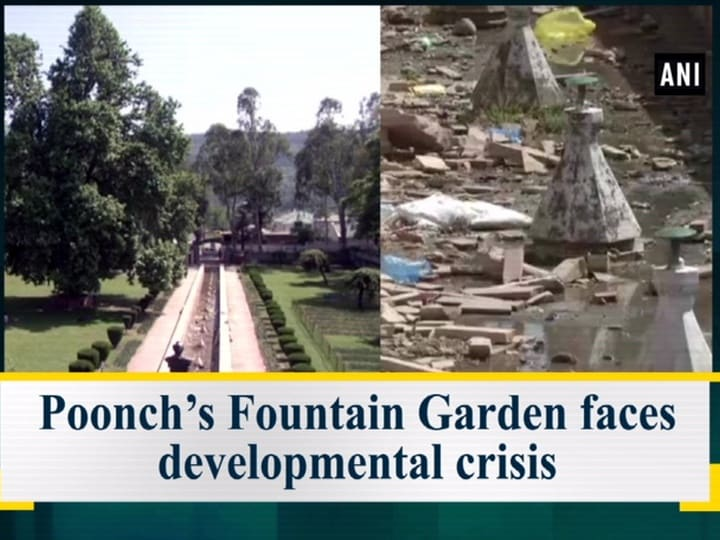 Poonch's Fountain Garden faces developmental crisis