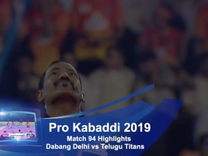 Pro Kabaddi 2019, Match 94 video highlights: Top raids of Dabang Delhi's Naveen Kumar