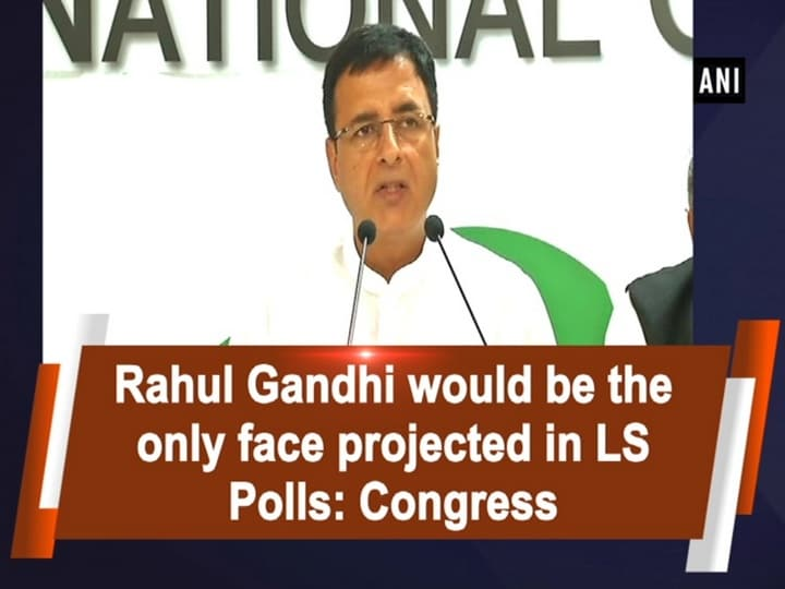 Rahul Gandhi would be the only face projected in LS Polls: Congress