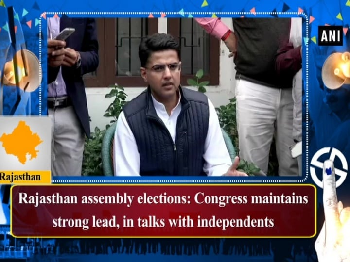 Rajasthan assembly elections: Congress maintains strong lead, in talks with independents