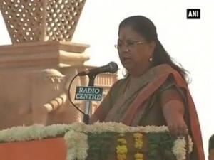 Rajasthan is 'NO.1' in skill development: Vasundhara Raje