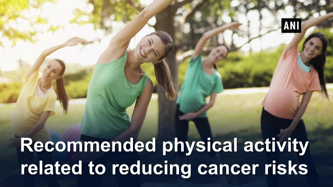 Recommended physical activity related to reducing cancer risks