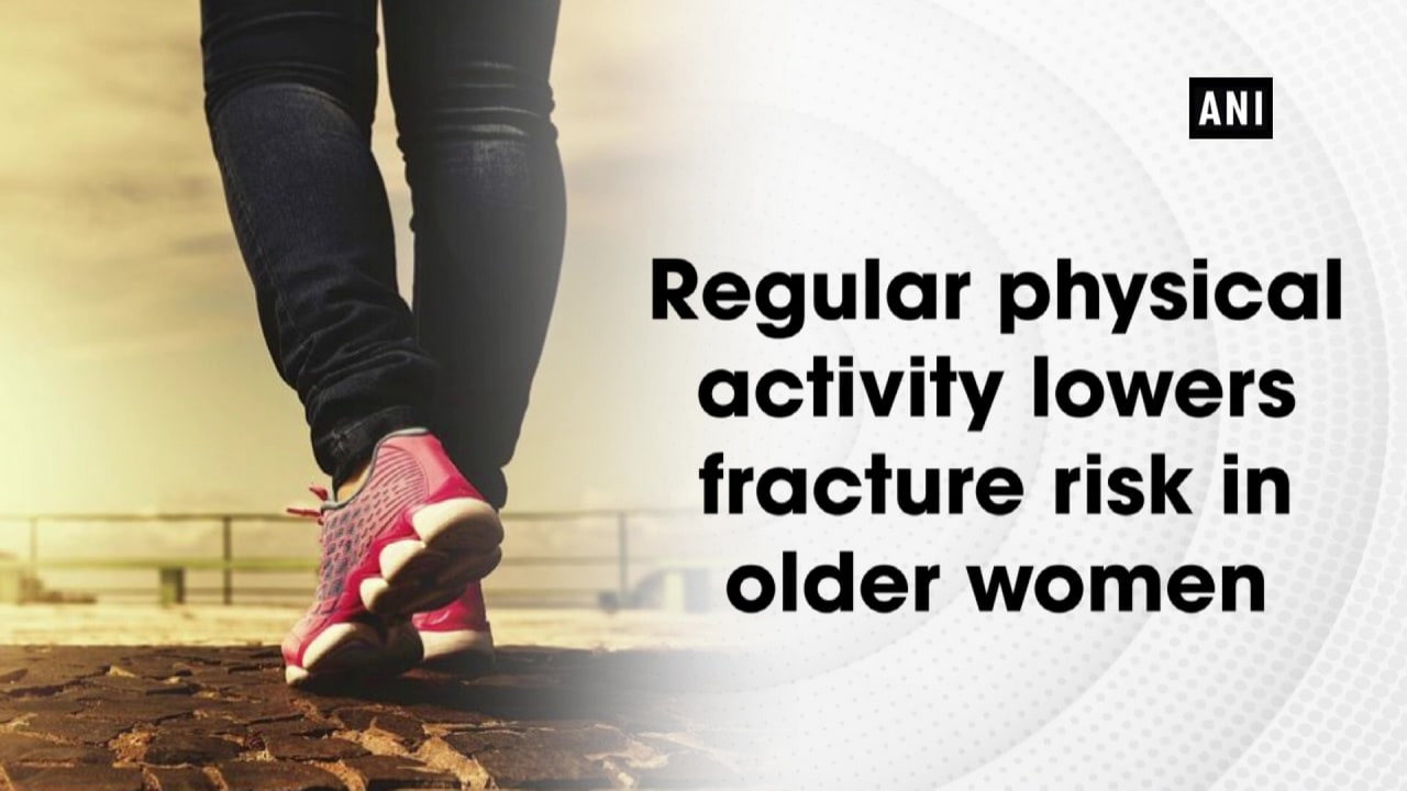 Regular physical activity lowers fracture risk in older women