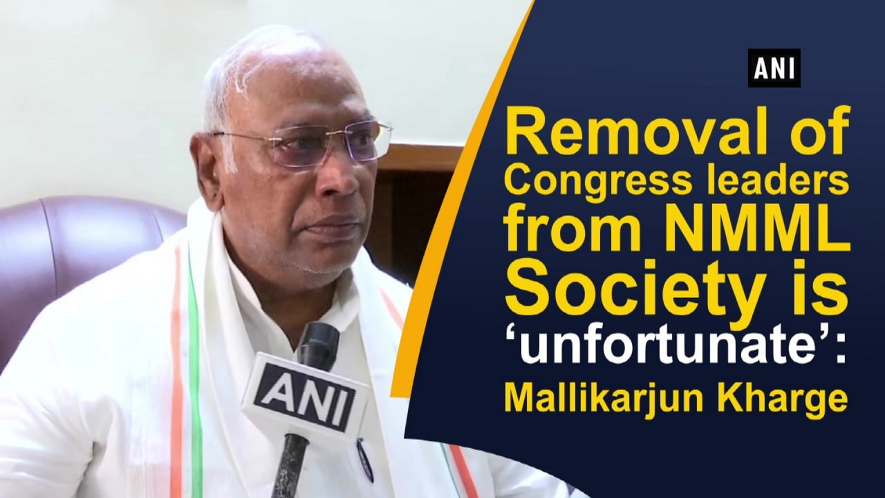 Removal of Congress leaders from NMML Society is 'unfortunate': Mallikarjun Kharge