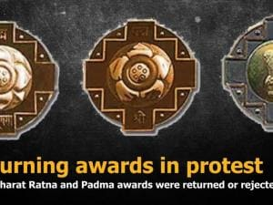 Returning awards in protest: When Bharat Ratna and Padma awards were returned or rejected