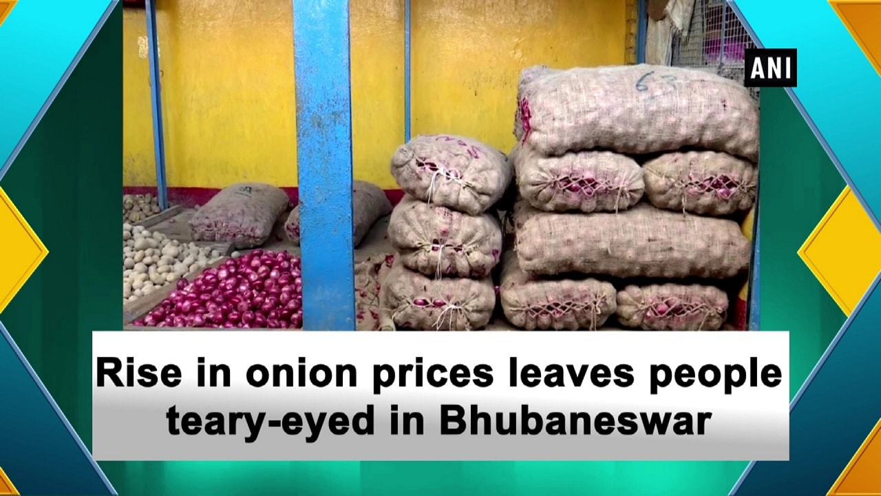Rise in onion prices leaves people teary-eyed in Bhubaneswar