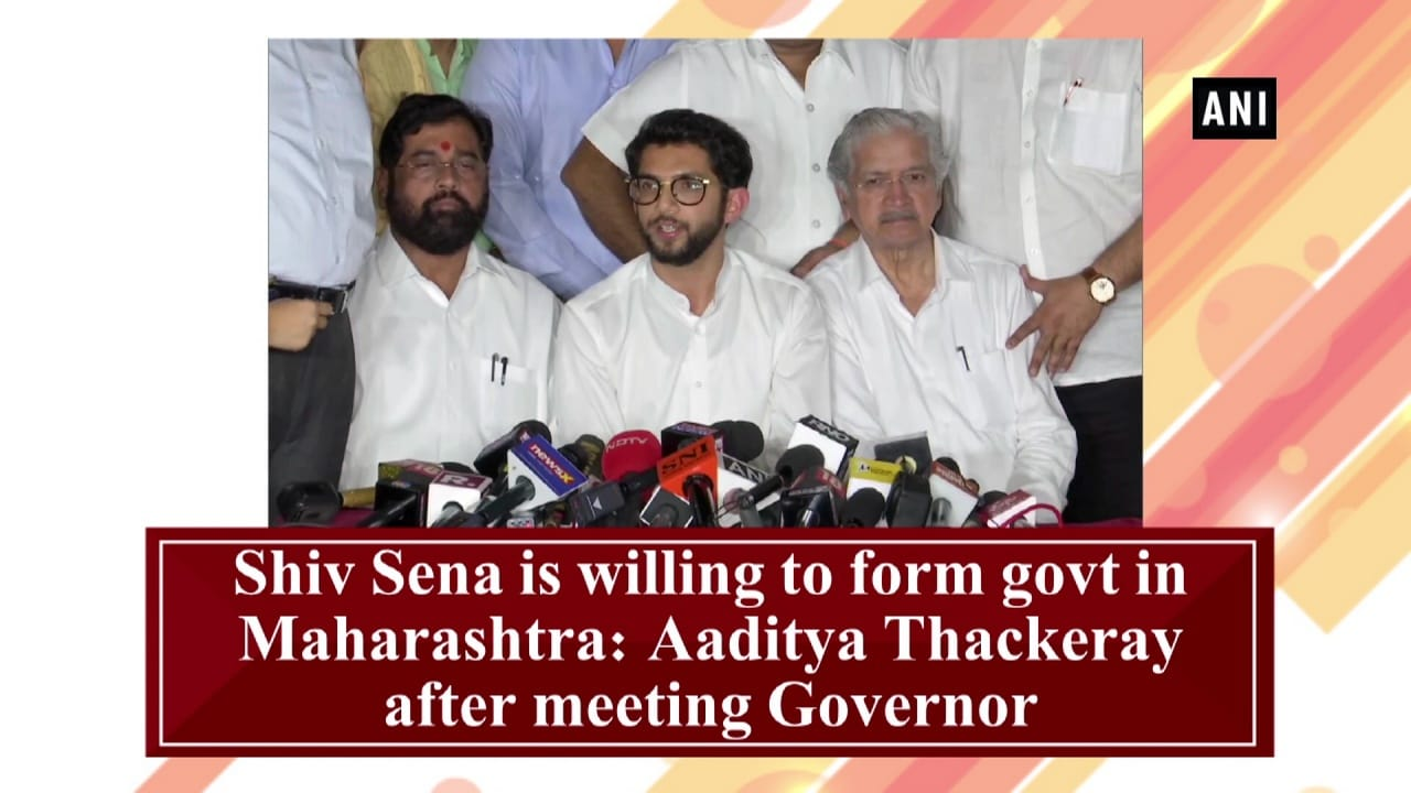 Shiv Sena is willing to form govt in Maharashtra: Aaditya Thackeray after meeting Governor