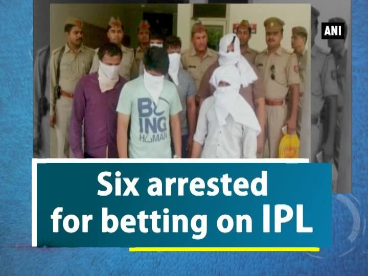 Six arrested for betting on IPL