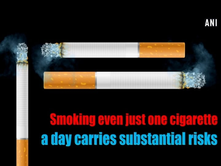 Smoking even just one cigarette a day carries substantial risks