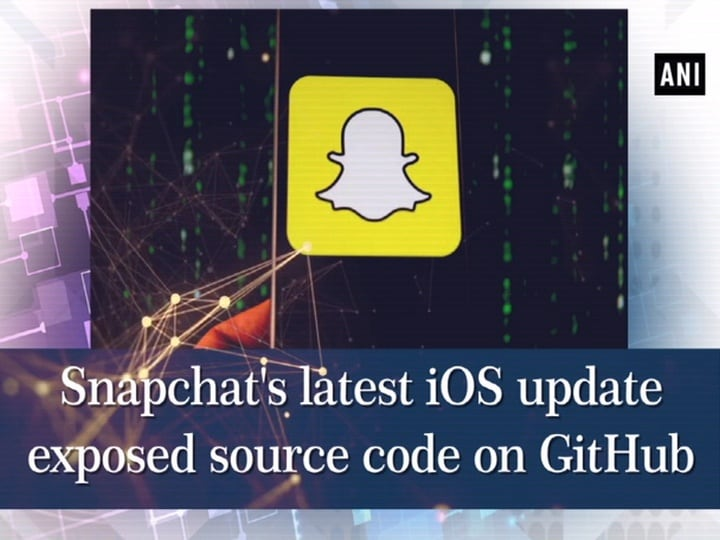 Snapchat's latest iOS update exposed source code on GitHub