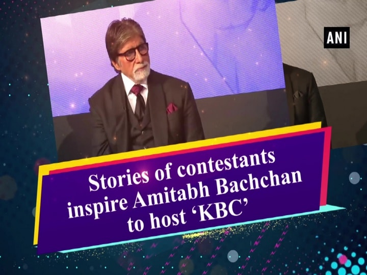 Stories of contestants inspire Amitabh Bachchan to host 'KBC'
