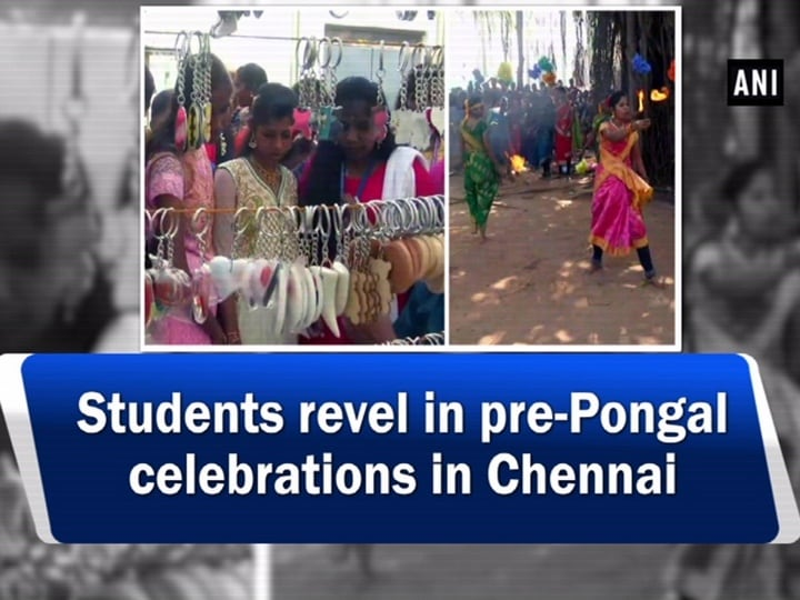 Students revel in pre-Pongal celebrations in Chennai