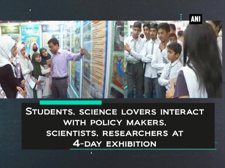 Students, science lovers interact with policy makers, scientists, researchers at 4-day exhibition