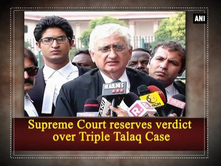 Supreme Court reserves verdict over Triple Talaq Case