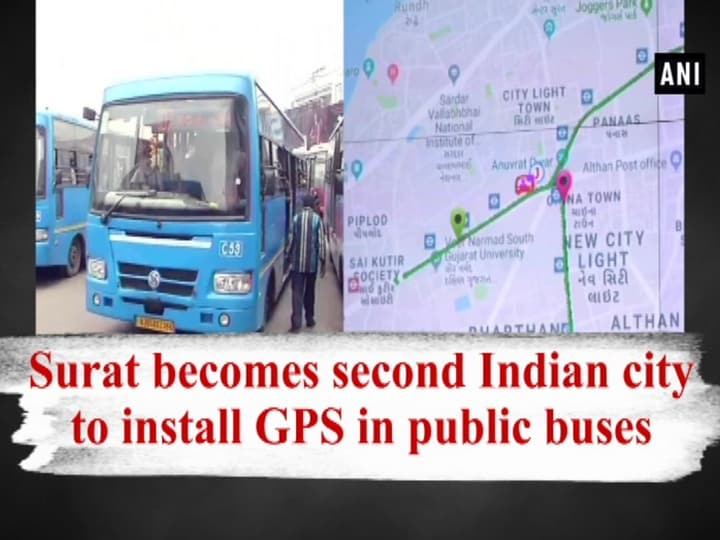 Surat becomes second Indian city to install GPS in public buses