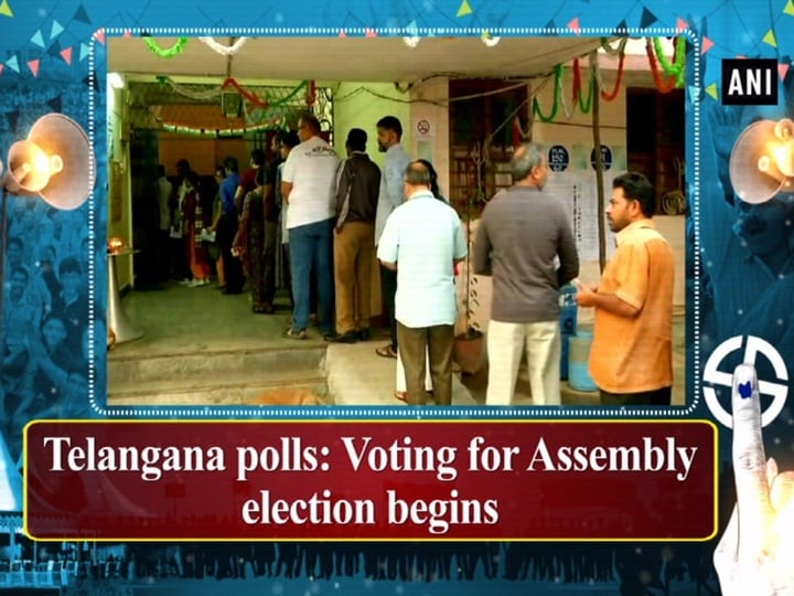 Telangana polls: Voting for Assembly election begins