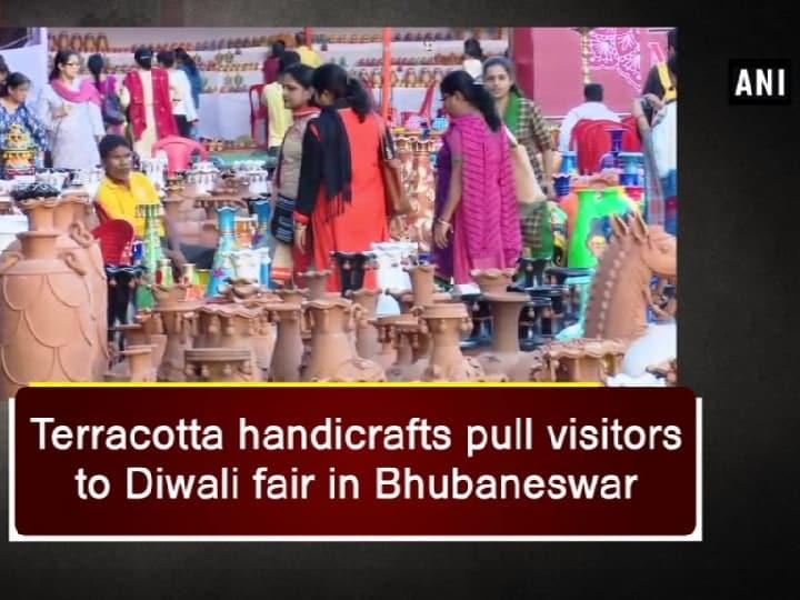 Terracotta handicrafts pull visitors to Diwali fair in Bhubaneswar