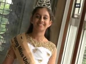 The Little Miss princess of Asia: Kochi girl bags international title