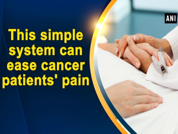 This simple system can ease cancer patients' pain
