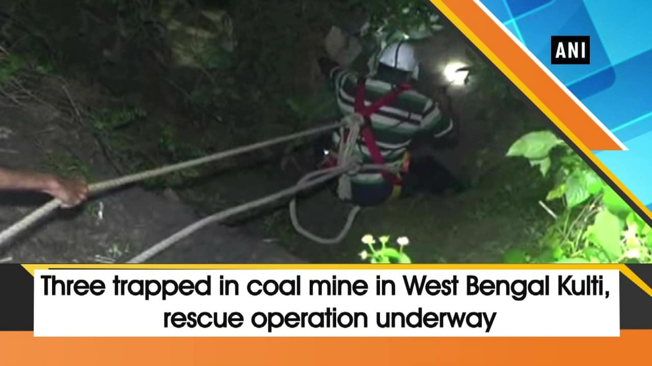 Three trapped in coal mine in Kulti, rescue operation underway