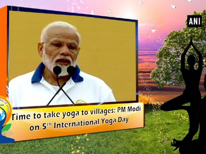 Time to take yoga to villages: PM Modi on 5th International Yoga Day
