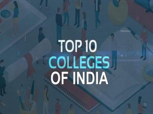 Top 10 colleges of India