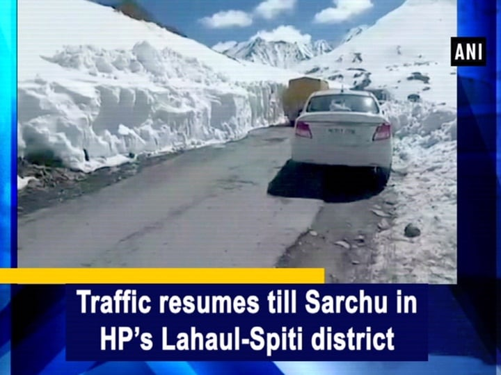 Traffic resumes till Sarchu in HP's Lahaul-Spiti district