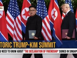 Trump-Kim summit : All you need to know about 'the declaration of friendship'