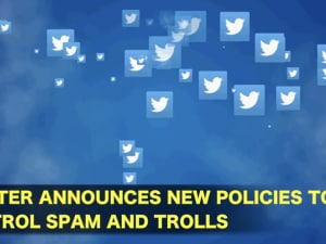 Twitter announces new policies to control spam and trolls