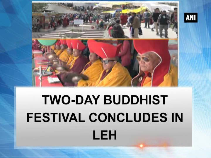 Two-day Buddhist festival concludes in Leh