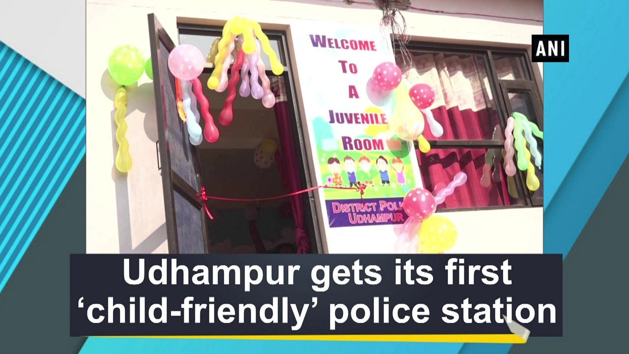 Udhampur gets its first 'child-friendly' police station