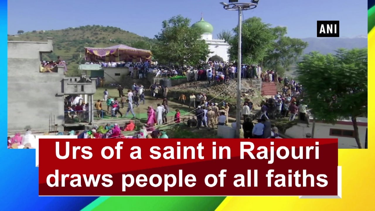 Urs of a saint in Rajouri draws people of all faiths