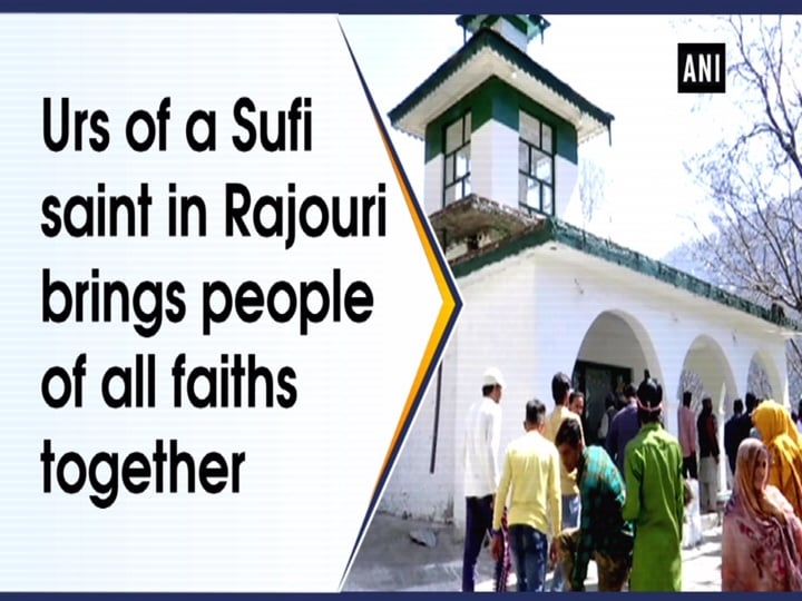 Urs of a Sufi saint in Rajouri brings people of all faiths together