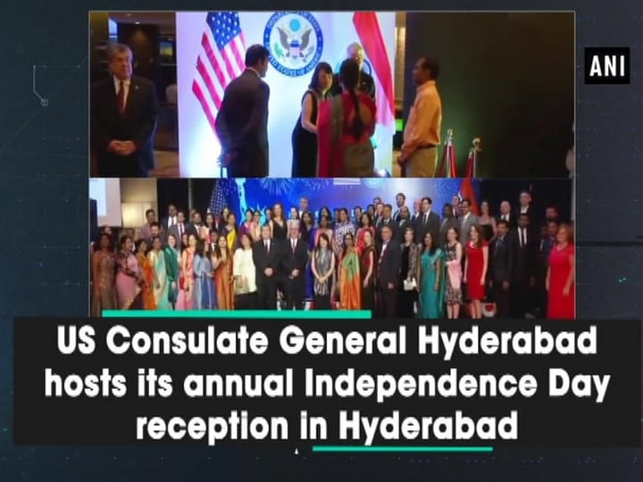 US Consulate General Hyderabad hosts its annual Independence Day reception in Hyderabad