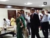 Vasundhara Raje meets ADB delegation