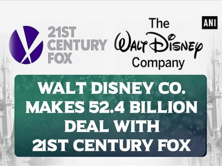 Walt Disney Co. makes $52.4 billion deal with 21st Century Fox