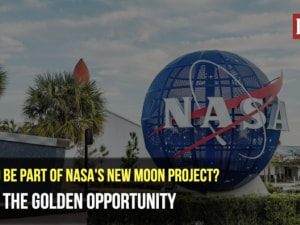 Want to be part of NASA's new moon project? Here's the golden opportunity