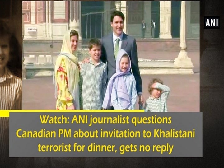 Watch: ANI journalist questions Canadian PM about invitation to Khalistani terrorist for dinner, gets no reply