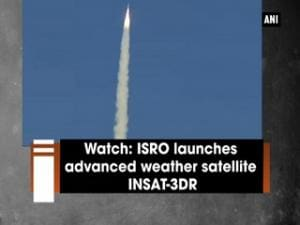 Watch: ISRO launches advanced weather satellite INSAT-3DR