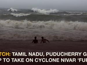 Watch: Tamil Nadu, Puducherry gear up to take on Cyclone Nivar 'fury'