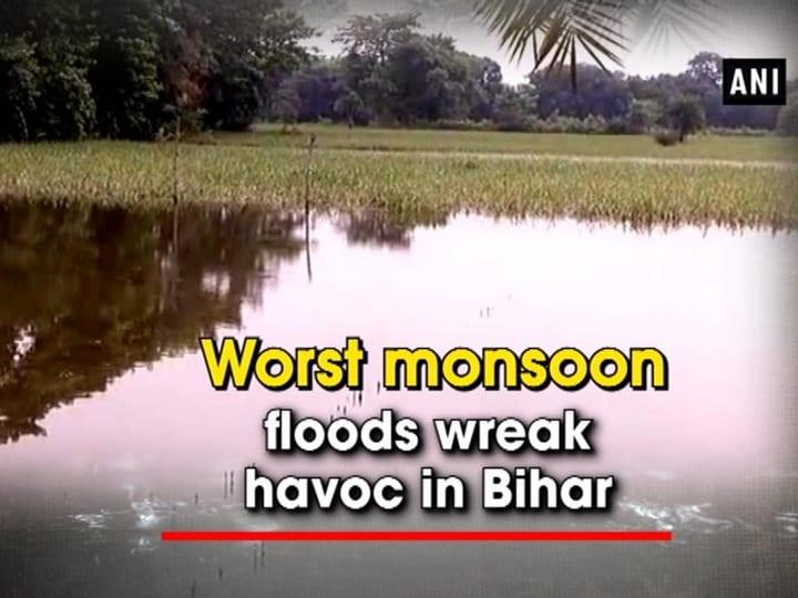Worst monsoon floods wreak havoc in Bihar