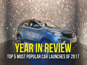 Year In Review: Top 5 Most Popular Car Launches Of 2017