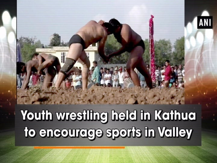 Youth wrestling held in Kathua to encourage sports in Valley