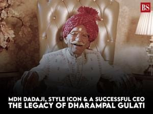 MDH Dadaji, style icon & a successful CEO: The legacy of Dharampal Gulati