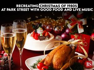 Recreating Christmas of 1980s at Park Street with good food and live music
