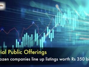 IPO market heats up : 3 dozen companies line up listings worth Rs 350 billion
