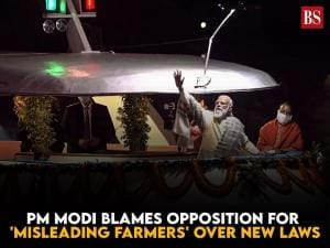 Watch: PM Modi blames Opposition for 'misleading farmers' over new laws
