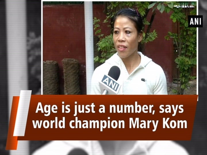 Age is just a number, says world champion Mary Kom